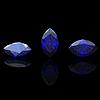 ID 3587028 | Blue gemstone of marquis shape on black. Benitoit. | Stockowa ilustracja wysokiej rozdzielczości | KLIPARTO