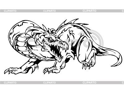Дракон | Векторный клипарт |ID 3444787
