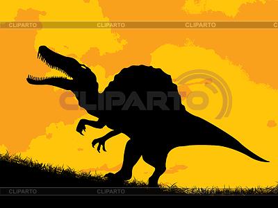Dinosaur silhouette | Stock Vektorgrafik |ID 3451054