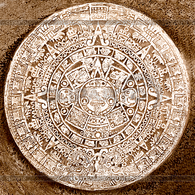 Alten aztekischen Kalender | Foto mit hoher Auflösung |ID 4698097