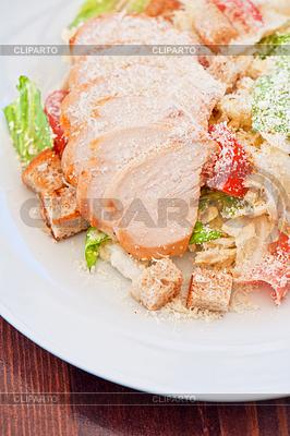 Huhn Ceasar Salat | Foto mit hoher Auflösung |ID 4498810