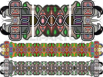 Traditionelle mittelalterliche keltische Muster | Illustration mit hoher Auflösung |ID 3428098
