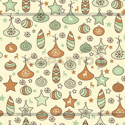 Nahtloses Weihnachtsmuster | Stock Vektorgrafik |ID 3444928