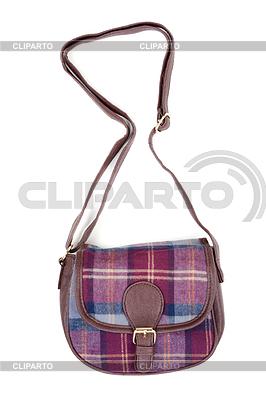 Ladies fashion plaid bag | Foto stockowe wysokiej rozdzielczości |ID 3679255