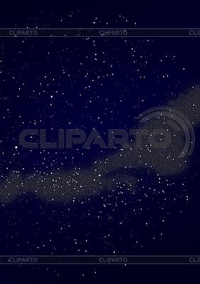 Blick auf einen Teil der Milchstraße | Illustration mit hoher Auflösung |ID 3479219