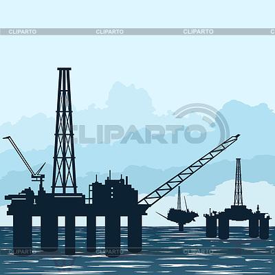 Схема работает в нефтяной