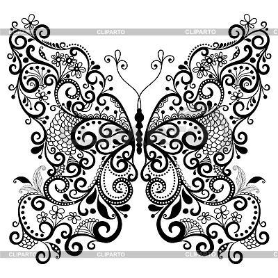 Dekorative fantasy butterfly | Stock Vektorgrafik |ID 3471159
