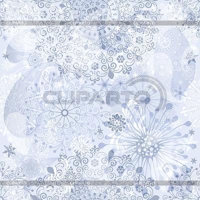 Christmas silvery seamless pattern | Klipart wektorowy |ID 3557604