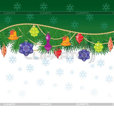 Boże Narodzenie i Nowy Rok karty | Klipart wektorowy |ID 3442644