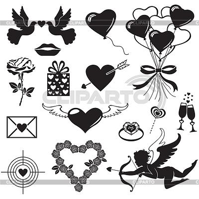 Valentinstag-Set | Stock Vektorgrafik |ID 3526217