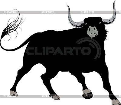 Black bull | Klipart wektorowy |ID 3465161