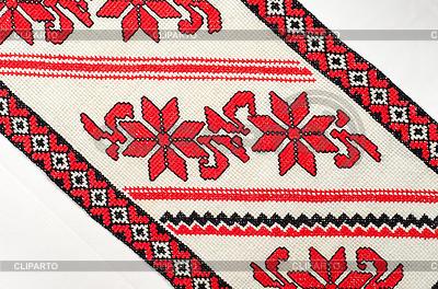 Haftowane dobrej przez cross-stitch wzorca | Foto stockowe wysokiej rozdzielczości |ID 3473118