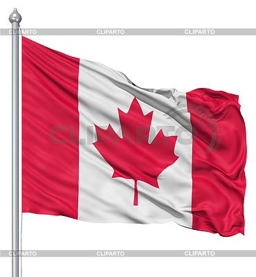 Flagge von Kanada | Illustration mit hoher Auflösung |ID 3531109