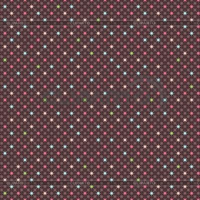 Bezproblemowa geometryczny wzór z gwiazdami | Klipart wektorowy |ID 3509408