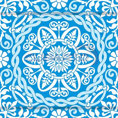 Blaues Wintermuster | Stock Vektorgrafik |ID 3479649