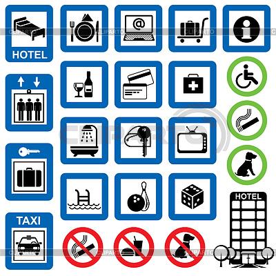 Белые иконки для меню сайта - a61