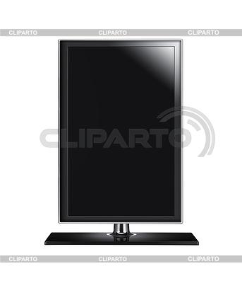 Schwarze Grafik Computer-Monitor | Foto mit hoher Auflösung |ID 3514054