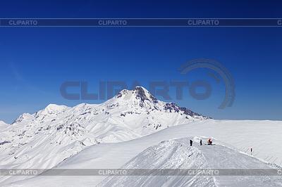 卡兹别克山的意见。高加索山脉, | 高分辨率照片 |ID 3484938