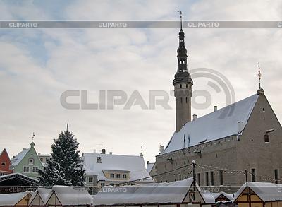 Ansicht von einer alten Stadt in Tallinn. Estland | Foto mit hoher Auflösung |ID 3695238