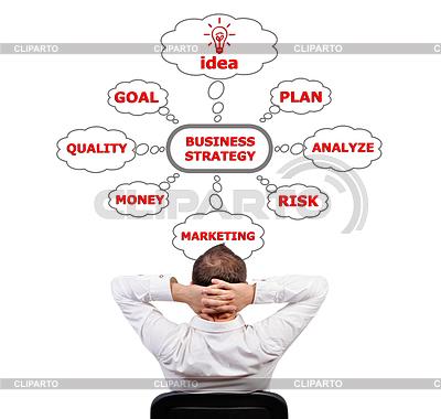 Strategia biznesowa | Foto stockowe wysokiej rozdzielczości |ID 3464578
