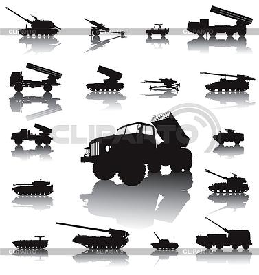Artillery set | Klipart wektorowy |ID 3685462