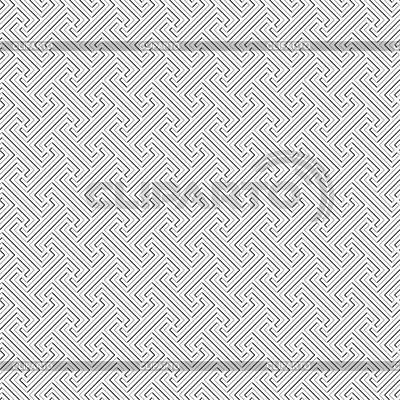 巴厘部落模式 - 无缝纹理 | 向量插图 |ID 3446559