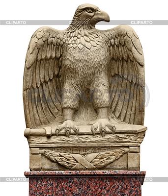 Alte Statue - Adler mit Schwert | Foto mit hoher Auflösung |ID 3531502