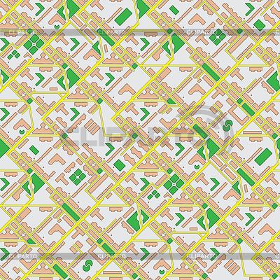 Бесшовная карта города | Фото