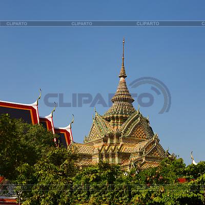 Bogate zdobione świątyni w Bangkoku, Tajlandia | Foto stockowe wysokiej rozdzielczości |ID 3548298