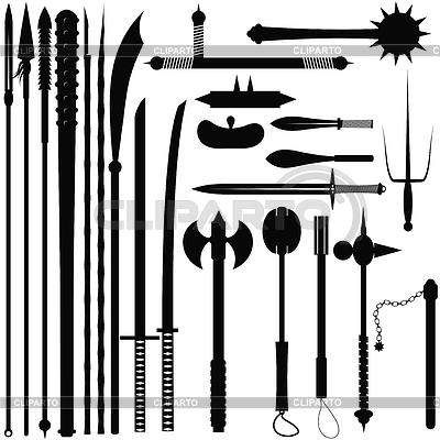 Европейское средневековое дробящее оружие - pikabu ru