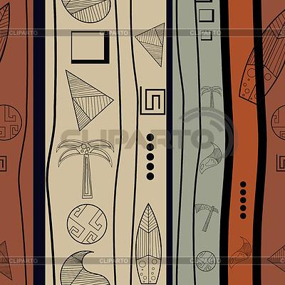 Nahtlose Textur mit alten Gegenständen | Stock Vektorgrafik |ID 3588149