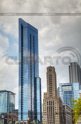 Downtown Chicago, IL | Foto stockowe wysokiej rozdzielczości |ID 3386779