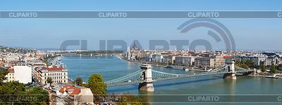 Panoramiczny przegląd Budapeszcie | Foto stockowe wysokiej rozdzielczości |ID 3469059