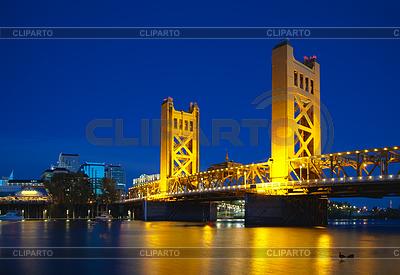 Golden Gates Zugbrücke in Sacramento | Foto mit hoher Auflösung |ID 3469199