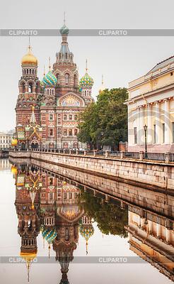 Retter auf Blut-Kathedrale in St. Petersburg | Foto mit hoher Auflösung |ID 3520389