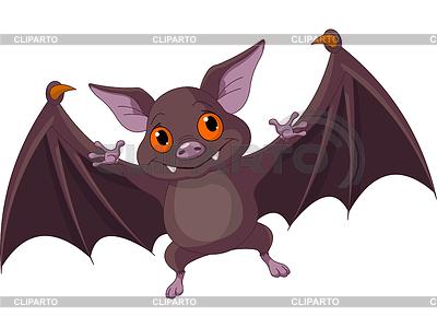 Halloween Fledermaus fliegen | Stock Vektorgrafik |ID 3390808