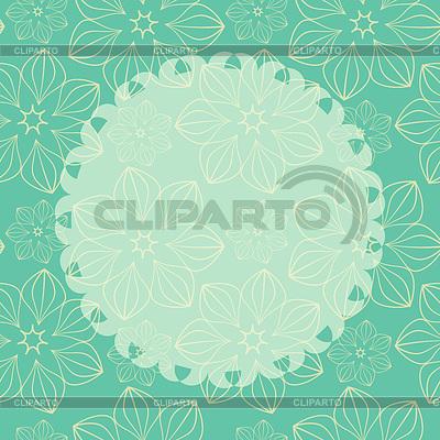 Szablon karty z tłem bez szwu | Klipart wektorowy |ID 3658629