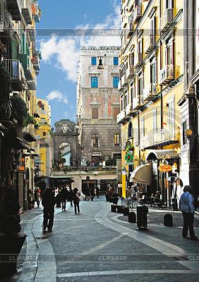 Zakupy ulicy w Neapolu | Foto stockowe wysokiej rozdzielczości |ID 3445831