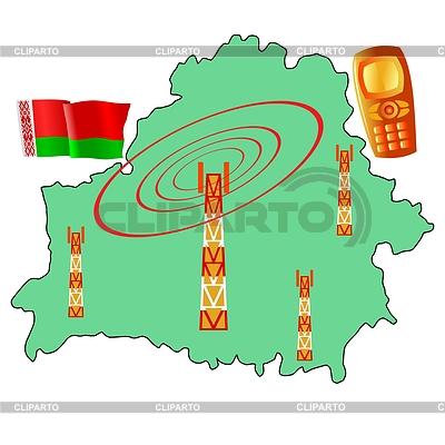 Mobile Verbindung von Belarus | Stock Vektorgrafik |ID 3589956