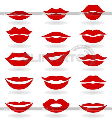 女性的嘴唇 | 向量插图 |ID 3447786