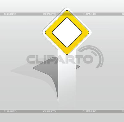 Aufkleber mit den wichtigsten Verkehrszeichen | Stock Vektorgrafik |ID 3570648
