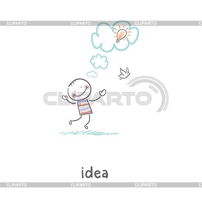 Geburt einer Idee. | Stock Vektorgrafik |ID 3579059