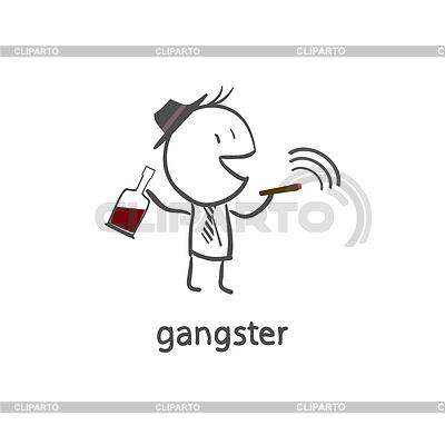 клипарт гангстер: