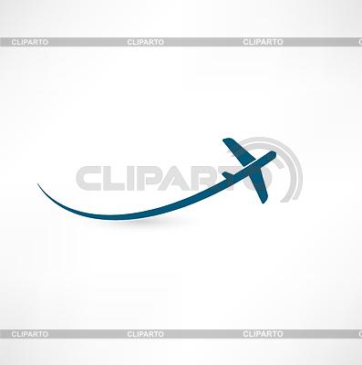 самолет векторный клипарт: