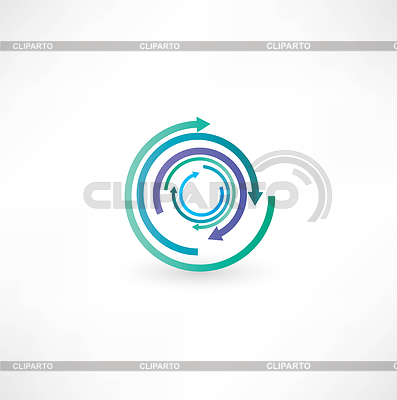 Business abstract icons | Stock Vektorgrafik |ID 3673518