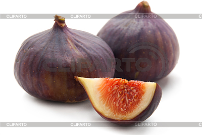 Dwa fig i pokroić | Foto stockowe wysokiej rozdzielczości |ID 3388195