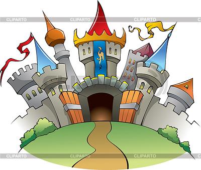 Średniowieczny zamek | Klipart wektorowy |ID 3507159