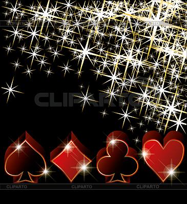 Kasino-Grußkarte | Stock Vektorgrafik |ID 3476245