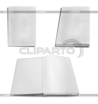 Collection of various blank white paper | Foto stockowe wysokiej rozdzielczości |ID 3538600