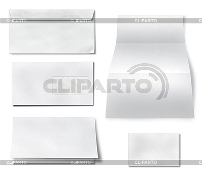 Collection of various blank white paper | 높은 해상도 사진 |ID 3538602
